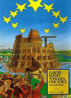 1992 EU Parliament Poster