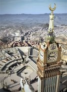 Giant Mecca Clock from Above