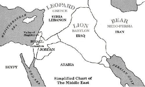 Revelation 13:2 Reveals the Geographic Location of the Antichrist'sKingdom