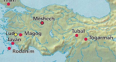 Gog of Magog Part 1: Russia or Turkey? [Ezekiel 38 & 39] | P2ALM Gog And Magog Map on world map, land of gog map, gog magog islam, togarmah map, seven churches of asia map, gog magog ancient map, khazar empire map, tower of babel map, revelation bible prophecy map, gog magog revelation 20, armageddon map, valley of hamon gog map, gog magog folklore, alexander's empire map, media persian empire map, gog magog armageddon, gog magog blood moons, gog y magog, book of revelation map,