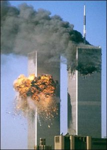 Twin Towers - 2nd Plane Hit