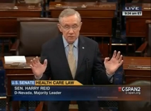 Harry Reid: Observable Evidence of Parallel Universes