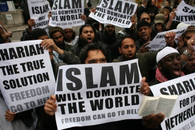 Islam will dominate the world. Freedom can go to hell. 400