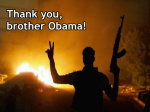 Thank you, brother Obama!