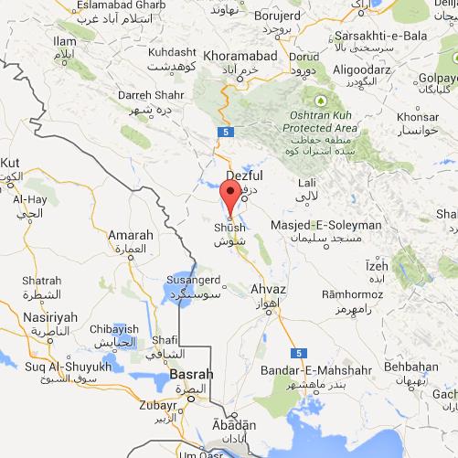 Shush (Susa) in Iran