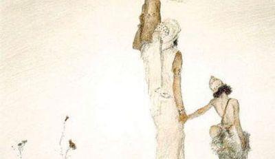 Hagar and Ishmael by Abel Pan