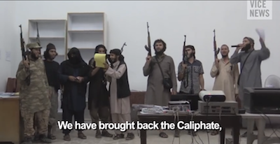 IS - We have brought back the Caliphate