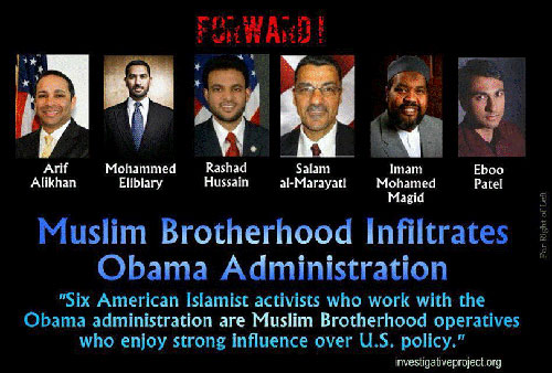 Muslim Brotherhood Infiltrates Obama Administration