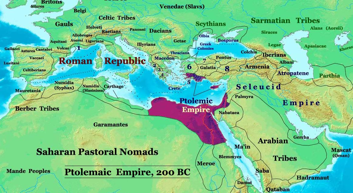 Ptolemaic Empire 200BC