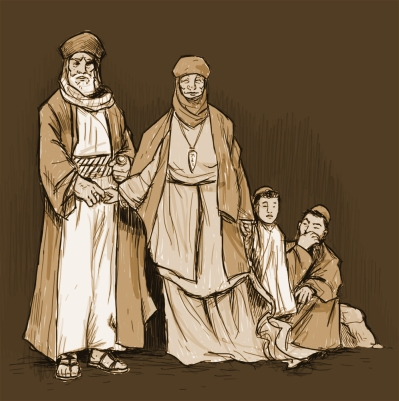 The Family of Abraham by RT Radke
