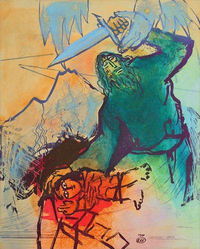 The Sacrifice of Isaac by Adi Holzer