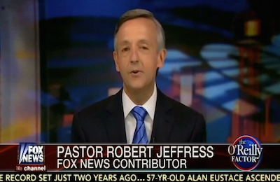 Pastor Jeffress On Biblical Difference Between Christian's Response to Muslims and Government's Response to Islam [Romans 13]