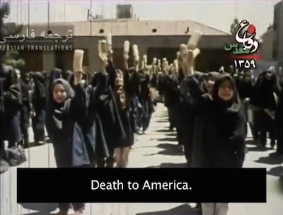 Children Chanting Death to America