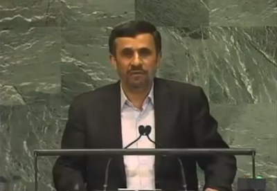 Ahmadinejad Gives 34 Minute Speech Before UN Assembly Calling for the Arrival of the Antichrist