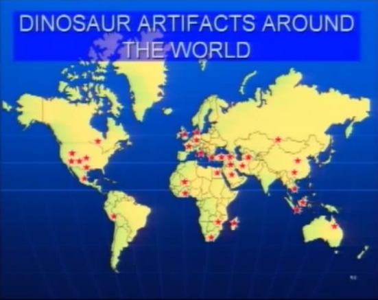 Dinosaur Artifacts Around the World